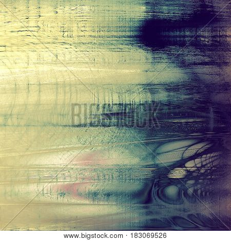 Colorful vintage texture. With different color patterns: yellow (beige); gray; blue; purple (violet); cyan