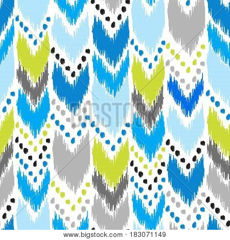 Modern american navajo seamless pattern. Design may be used for wallpaper, home decor textile, fashion fabric, wrapping paper, web, print, cards background. Colorful pattern in hipster style.