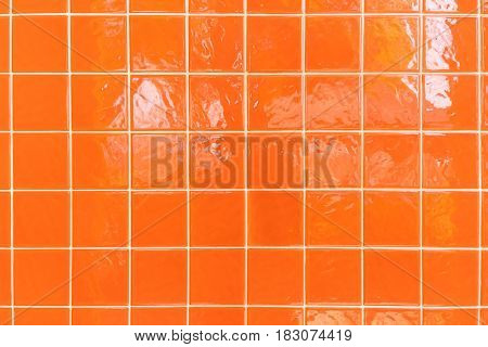 Tile floor clean condition with geometric line for background.