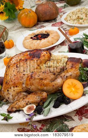 Roasted Thanksgiving Turkey