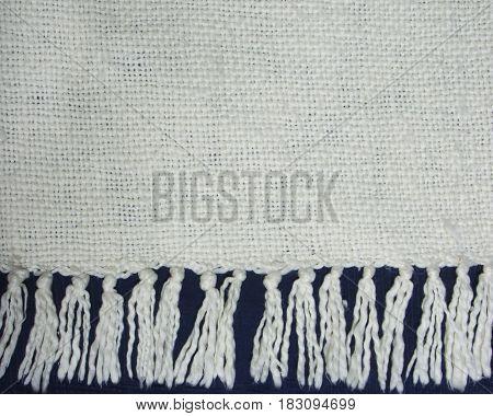 Fringed Blanket Edge
