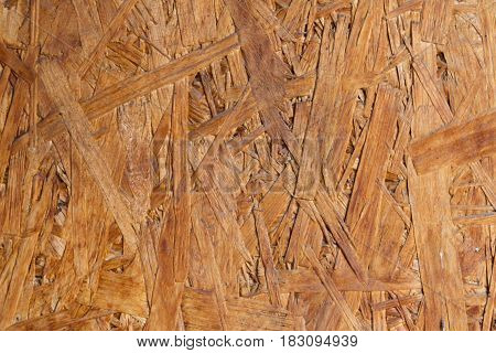 Texture Of A Panel Of Sawdust