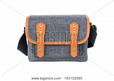 camera bag isolated on a white background