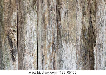 Longitudinal wood surface vertical, vintage style  tone