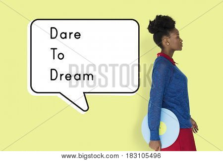Dare Dream Follow Motivation Aspiration