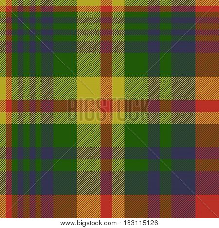 Diagonal fabric texture background seamless pattern. Vector illustration.