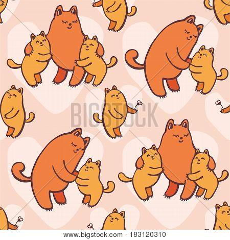 Cats Seamless Pattern.eps