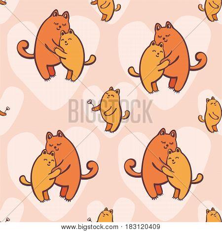 Kittens Seamless Pattern.eps
