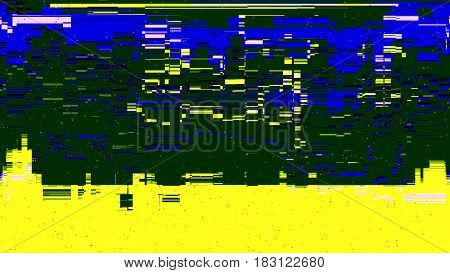 Error Concept Of No Signal Tv