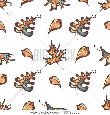 Vector Seamless Nature Pattern.