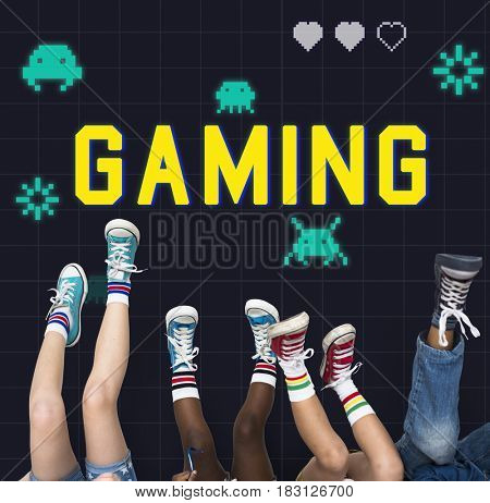 Game Play Entertainment Fun Relax Leisure Graphic