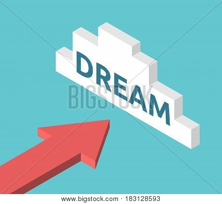 Isometric Arrow, Dream Cloud