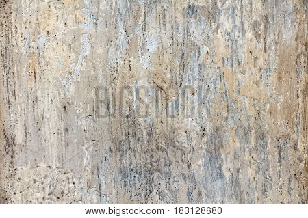 Abstract texture of wall covered with cement plaster