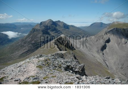 View From Beinn Eighe, Scotland