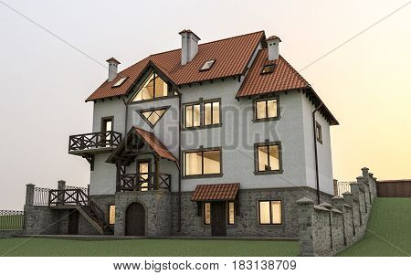 Expensive Detached House