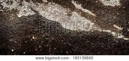 Asphalt, asphalt texture, wet asphalt background, after the rain, asphalt closeup, grunge asphalt