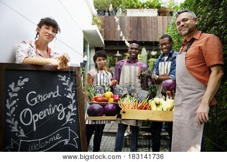 Community Market Grand Opening Commercial