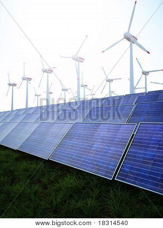 Solar and Wind Power Park