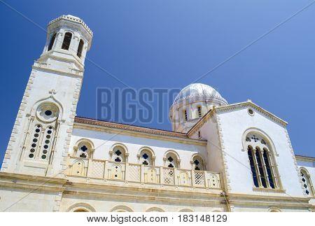 Ayia Napa orthodox cathedral. Limassol town. Cyprus