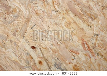 Coarse Wooden Flakeboard Background