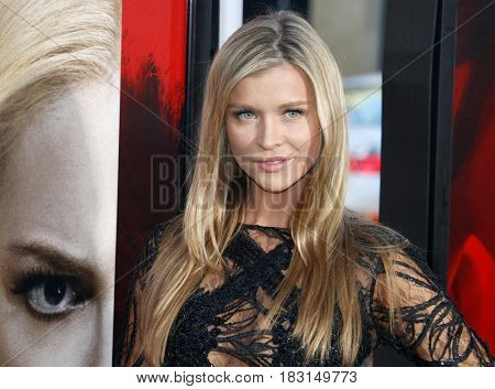 Joanna Krupa at the Los Angeles premiere of 'Unforgettable' held at the TCL Chinese Theatre in Hollywood, USA on April 18, 2017.