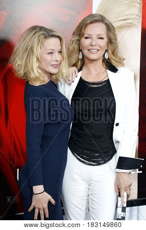 Cheryl Ladd and Jordan Ladd at the Los Angeles premiere of 'Unforgettable' held at the TCL Chinese Theatre in Hollywood, USA on April 18, 2017.
