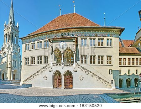 The City Hall Of Berne
