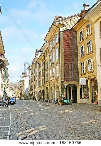 The Quiet Street Of Berne