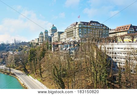 Bern From The Bridge