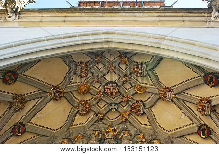 The Old Reliefs On Munster Cathedral