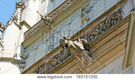 The Gargoyles Of Minster Cathedral