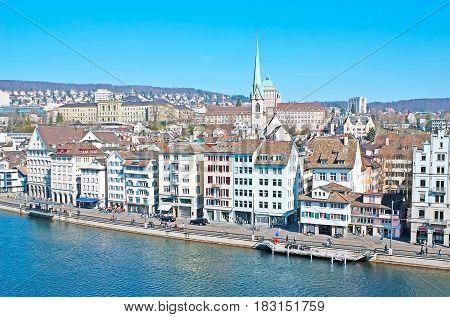 Zurich From The Lindenhof