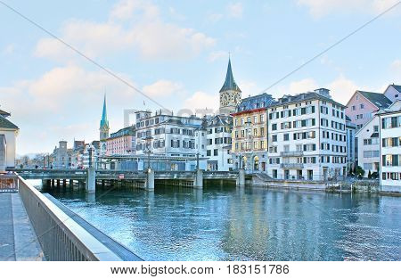 The Quays Of Zurich
