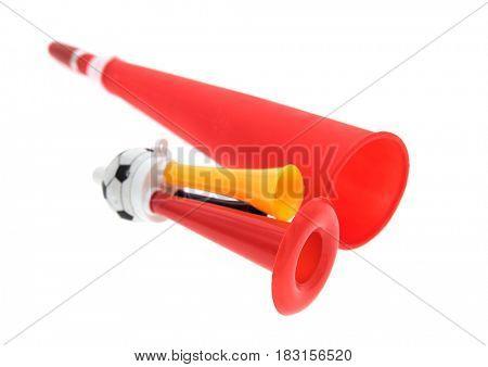 Football soccer fan trumpet