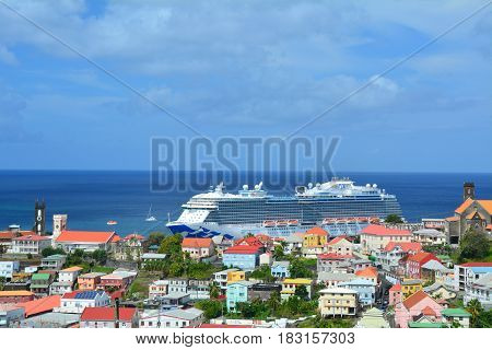 Royal Princess Ship In Grenada
