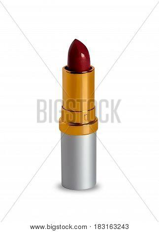 Lipstick set isolated on the white background