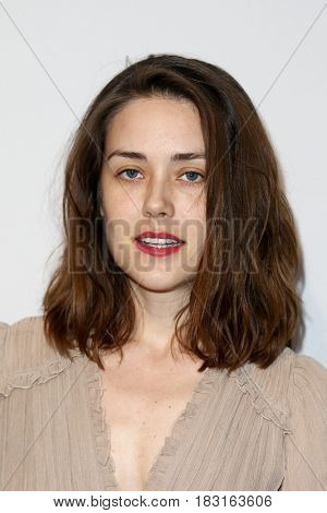 NEW YORK-APR 22: Megan Boone attends the 'Literally, Right Before Aaron' screening at SVA Theatre during the 2017 TriBeCa Film Festival on April 22, 2017 in New York City.