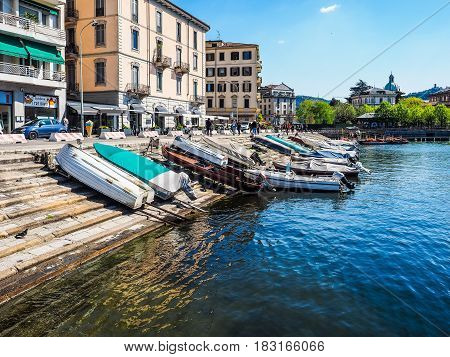 View Of Lake Como (hdr)
