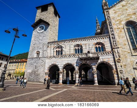 Broletto (town Hall) In Como (hdr)