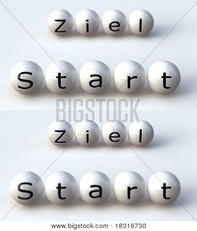 Start Ziel