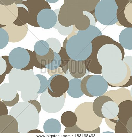 Abstract seamless pattern art background in illustration space geometry. Background consists of multicolor texture and is suitable for use in projects on imagination, creativity and design.