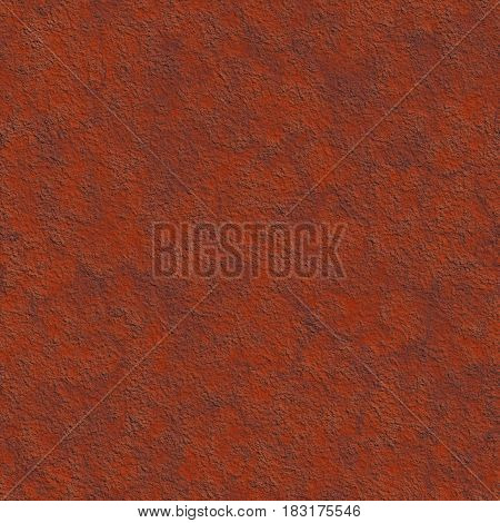 Corroded metal texture generated. Seamless pattern. Digital illustration.