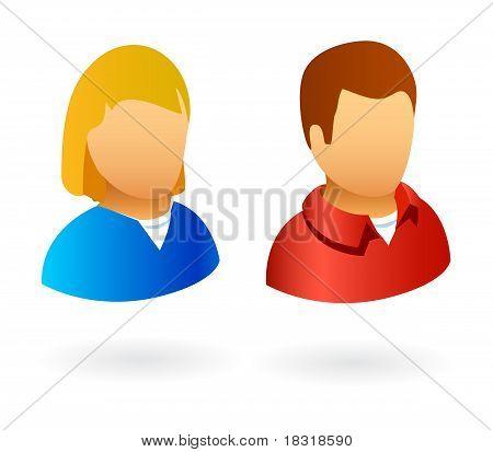 avatars male female