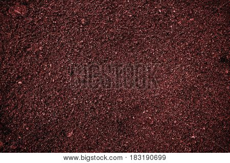 Soil, red soil background, soil texture, red soil. Earth, red earth background, ground texture. Red background. Red. Grunge. Grunge background.