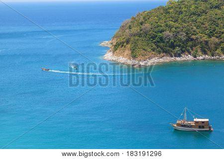 Island bay view point at Phuket Thailand
