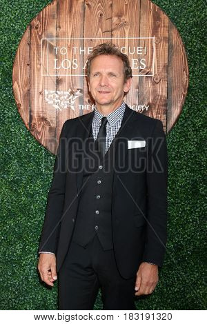LOS ANGELES - APR 22:  Sebastian Roche at the 2017 The Humane Society Gala at Parmount Studios on April 22, 2017 in Los Angeles, CA