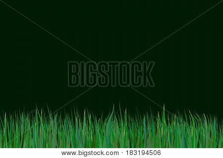 Isolated Grass Element