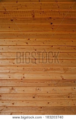 Wall Made Of Wooden Boards