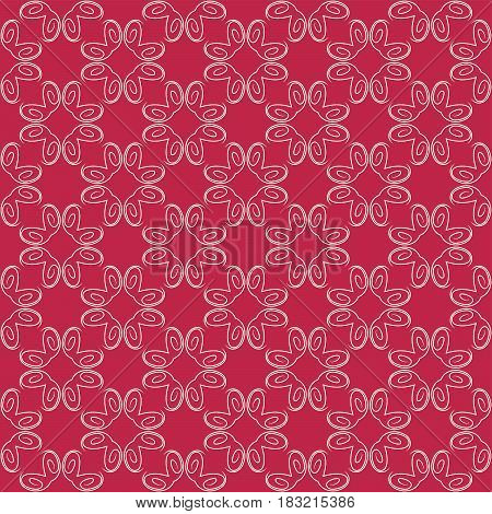 Vector Seamless Geometry Pattern for Print fabric, Background for Web and Digital