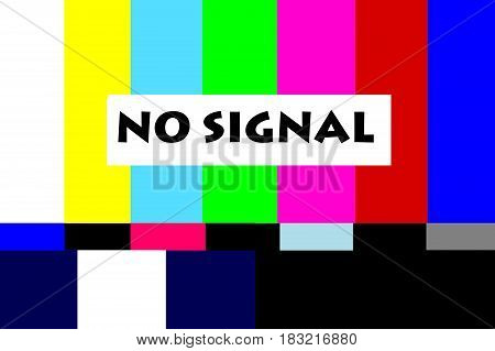 signal television vintage color retro   screen texture